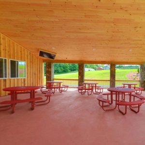 Canteen deck