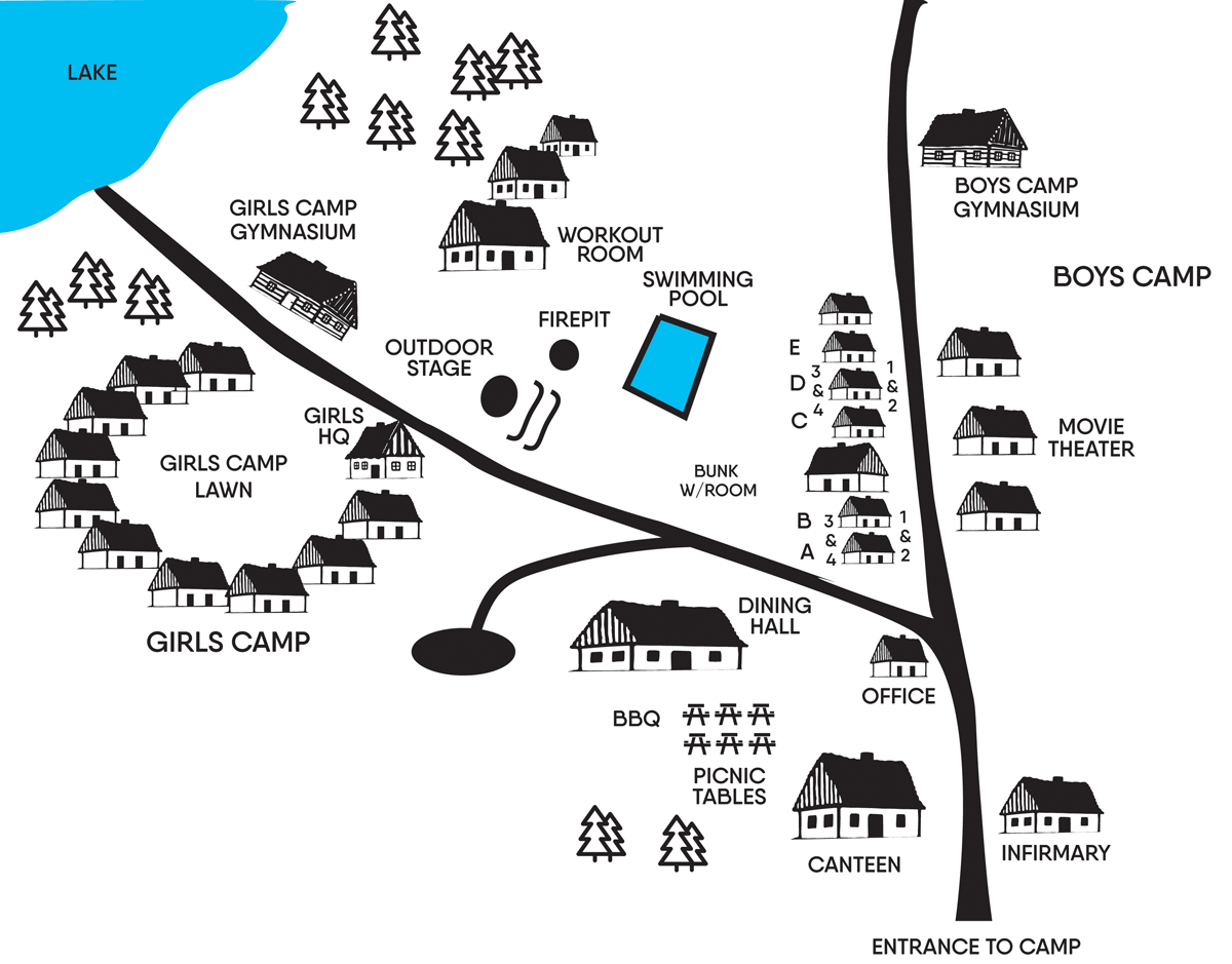 Pug Camp Map