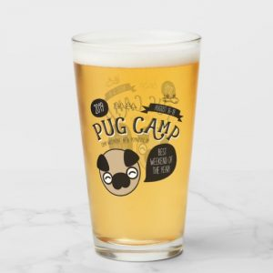 Pug Camp 2019 Pint Glass