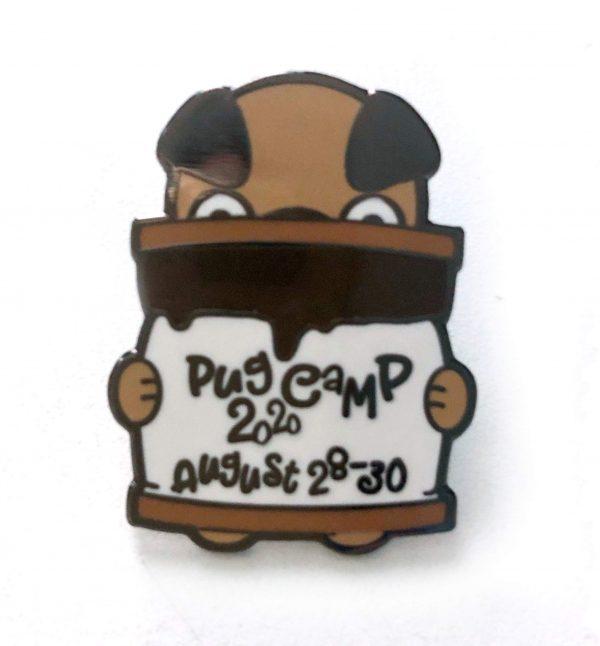 Pug Camp 2020 pin